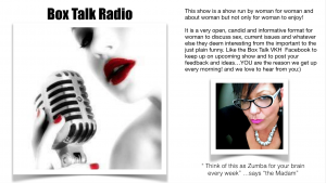 Box Talk wants YOU!!! to tell us what you think and send us new talent to discover and have on your show....